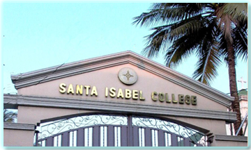Front Gate of Santa Isabel College-Manila